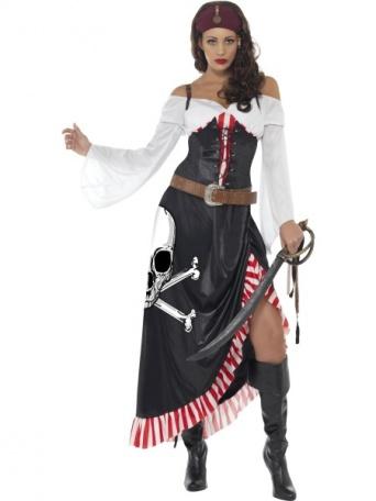 e4dc55b0a6c4 Kostým pro ženy - Statečná pirátka - LEVNÁ PARTY