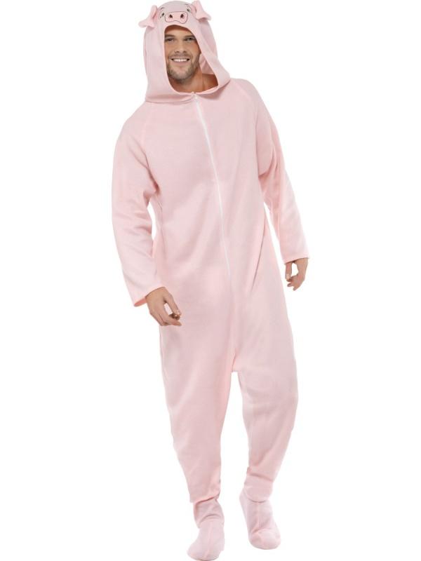 Kostým Prasátko pyžamo - LEVNÁ PARTY 00879f9319